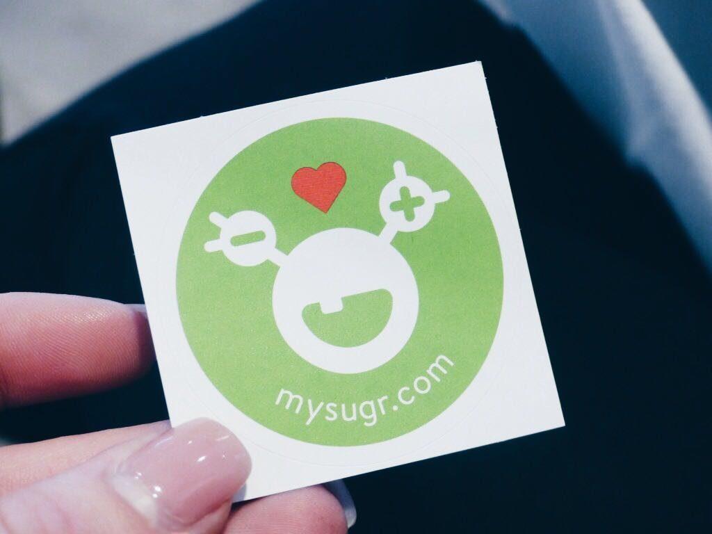 mySugr Sticker T1DAY